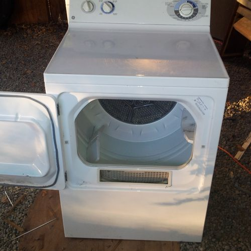 I service and repair both gas and electric dryers. Coin operated and Commercial. no job to small...