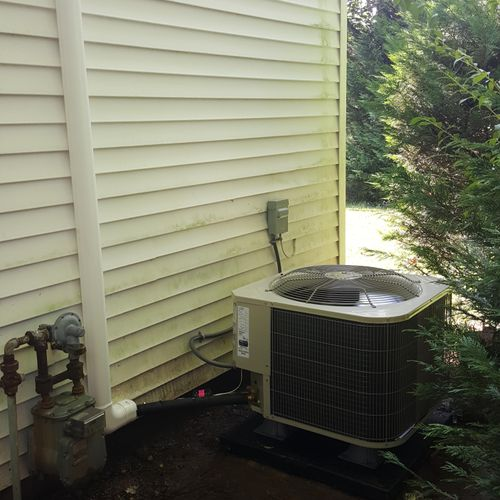 Unit install in Bowie,MD