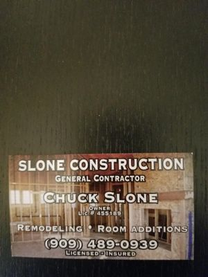 Avatar for Slone Construction and Remodeling