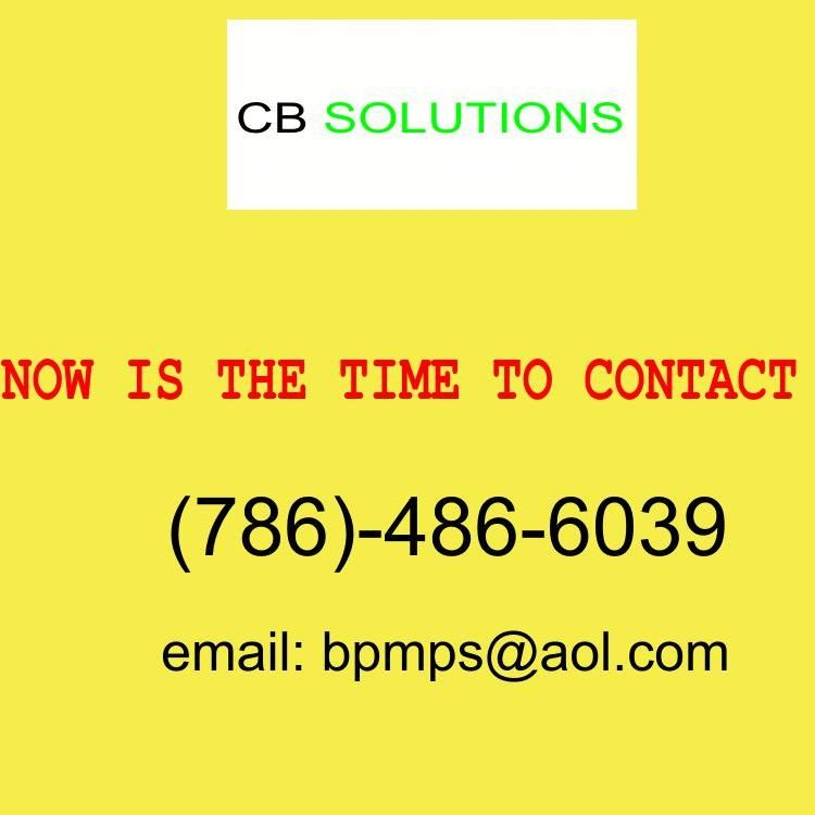 CB SOLUTIONS