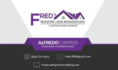 Avatar for Fred's Roofing And Remodeling Plainview, TX Thumbtack