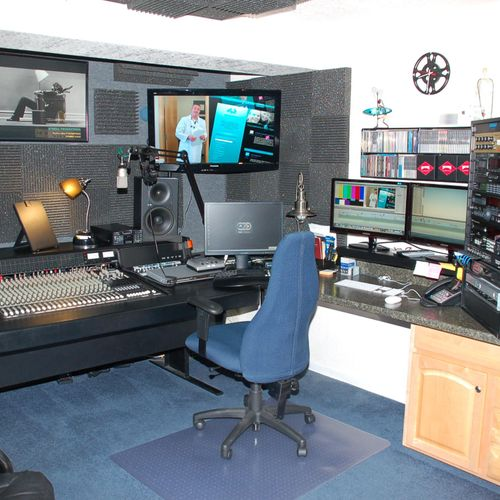 Studio A - Audio & Video Editing/My Voice-overs
