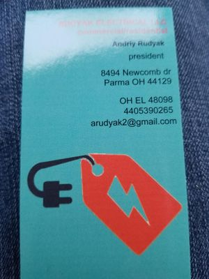 Avatar for Rudyak electrical services llc Cleveland, OH Thumbtack