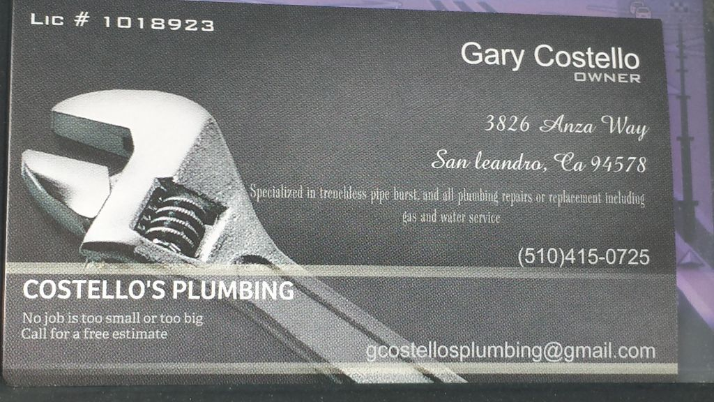 Costello's Plumbing