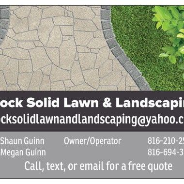 Avatar for Rock Solid Lawn & Landscaping LLC Blue Springs, MO Thumbtack