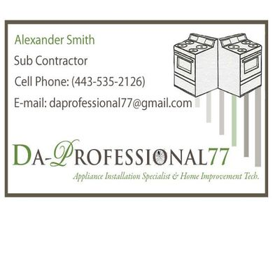 Avatar for Da Professional77 Windsor Mill, MD Thumbtack