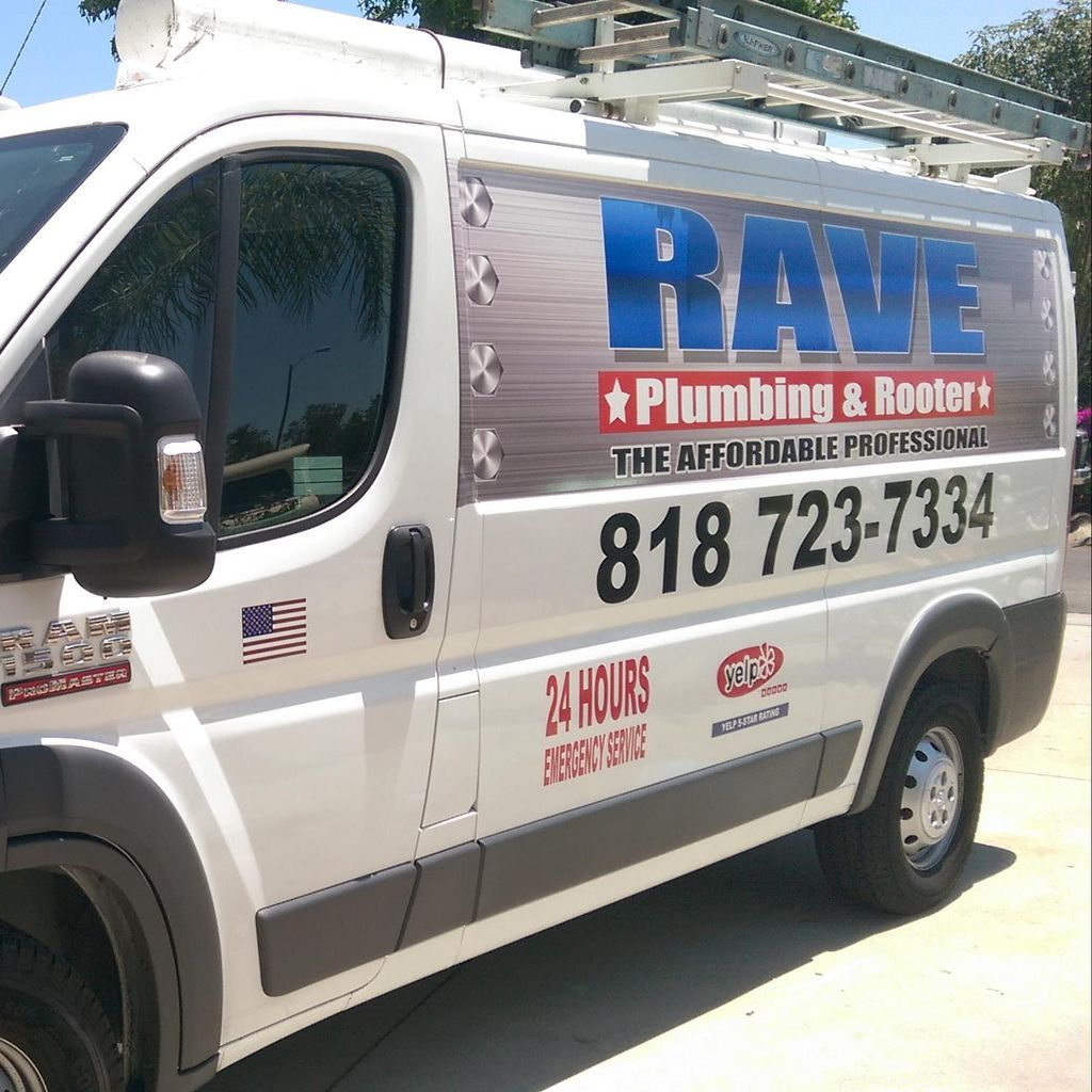 Rave plumbing inc