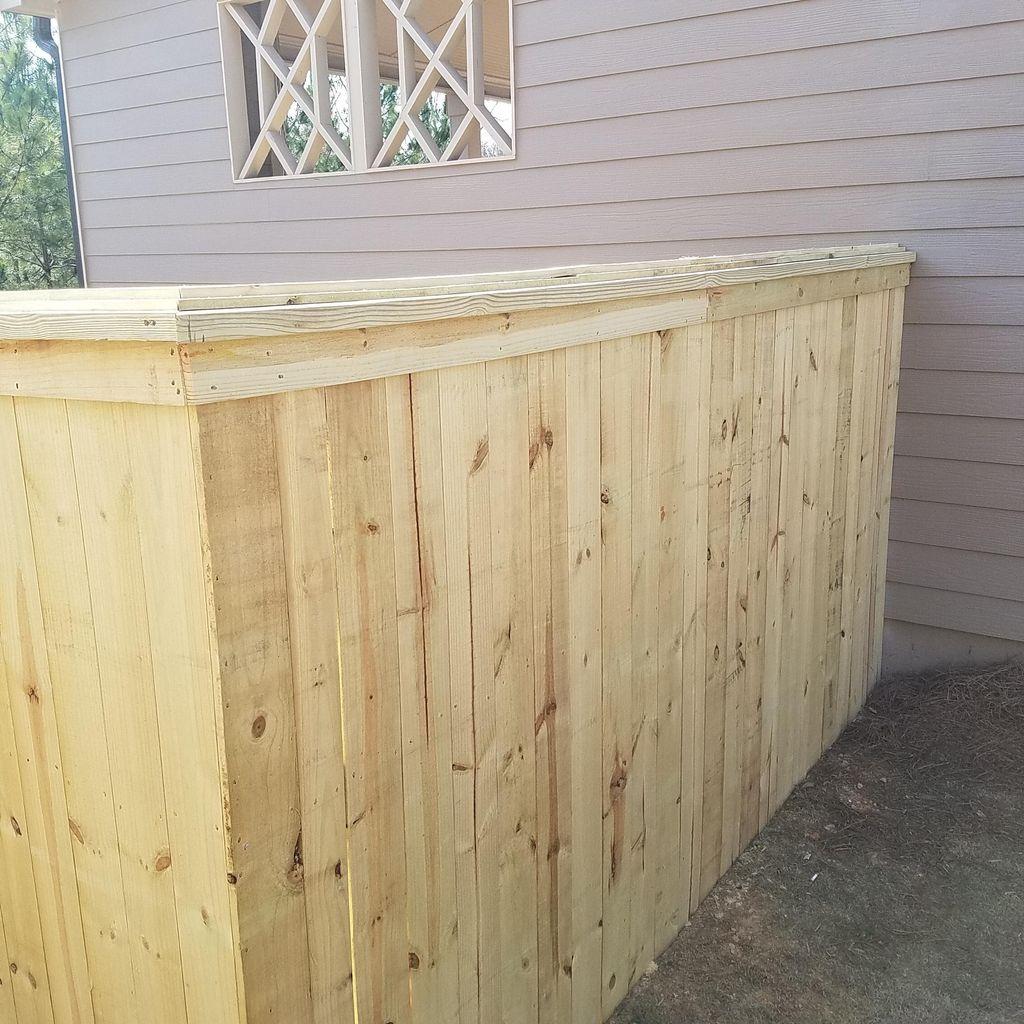 Underwood Fence