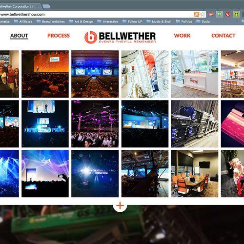 Web design: bellwethershow.com