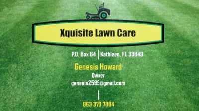 Avatar for Xquisite Lawn Care