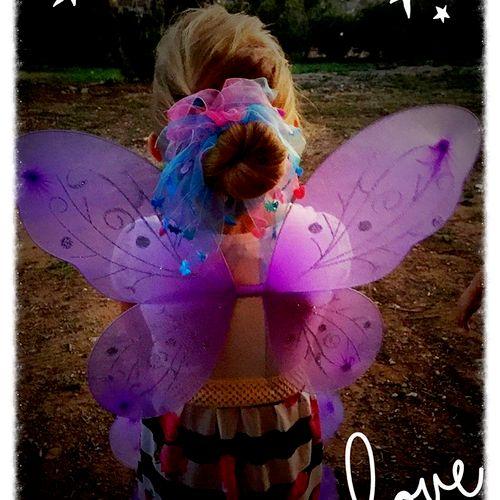 We do dress up tea parties! You have a choice: Fairy, Fairy Princess, Princess, and Ballerina