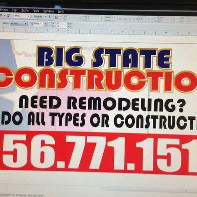 Big State Construction Laredo, TX Thumbtack