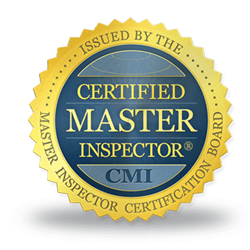 We use Certified Master Inspectors!