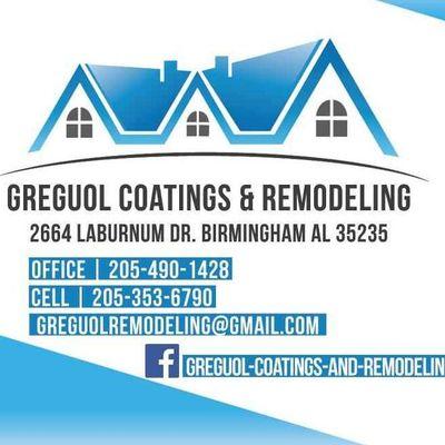 Greguol Coatings and Remodeling Birmingham, AL Thumbtack
