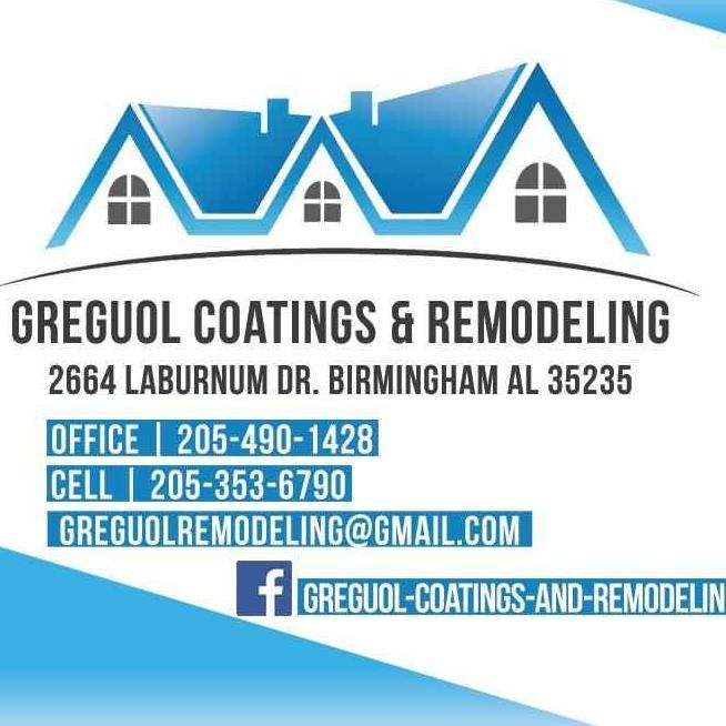 Greguol Coatings and Remodeling
