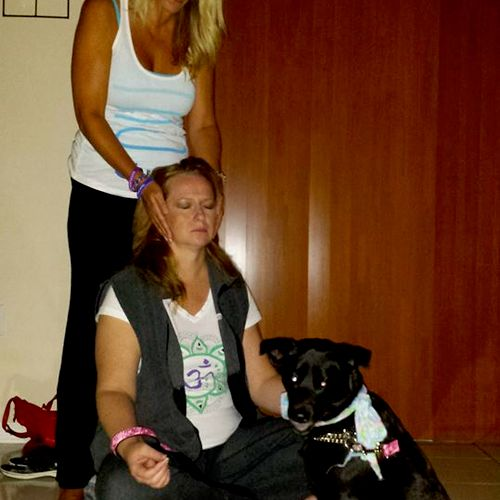 Animal Assisted Therapy Reiki Circle