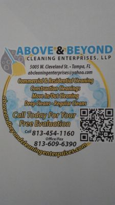 Avatar for Above and Beyond Cleaning Enterprises