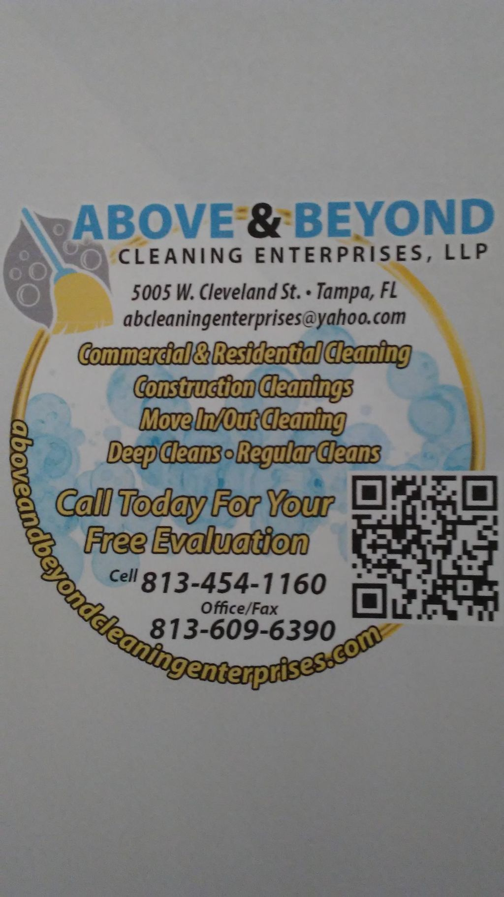 Above and Beyond Cleaning Enterprises