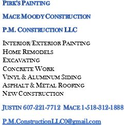 Pirk's Painting & Mace Moody Construction--- P....