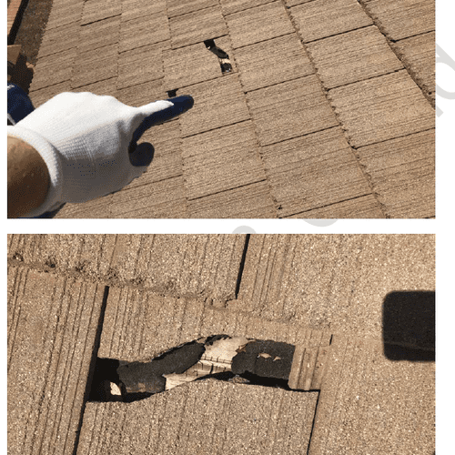 Tile Roof Leak Investigation