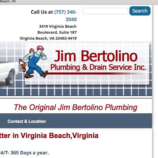 Jim Bertolino & Son Plumbing and Drain Service ...