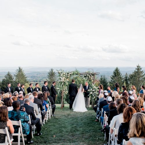 An interfaith wedding high on a mountaintop was very special for all - September 2017
