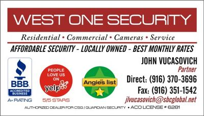 Avatar for West One Security Sacramento, CA Thumbtack