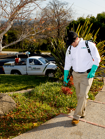 EcoGuard Pest Management supervisor Troy Schmidt.