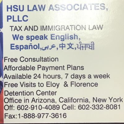Avatar for Hsu Law Associates PLLC Glendale, AZ Thumbtack