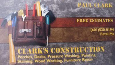 Avatar for Clarks Home Repairs Petal, MS Thumbtack