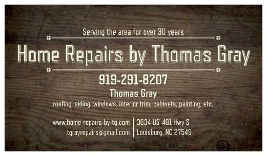 Home Repairs by Thomas Gray