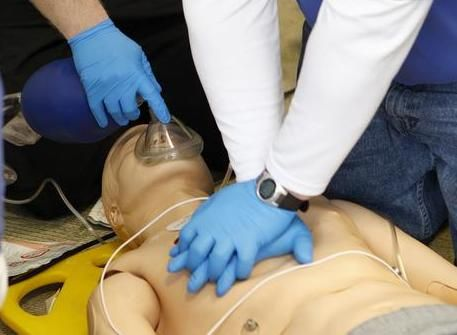 Learn CPR and first aid. Learn it...for life!