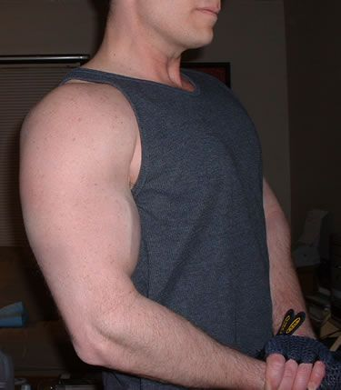Building muscle takes determination and consistency.