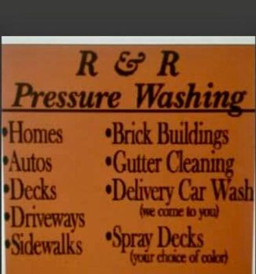 Avatar for R&R Pressure Washing Marion, OH Thumbtack