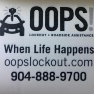 Avatar for Oops lockout and roadside Saint Augustine, FL Thumbtack