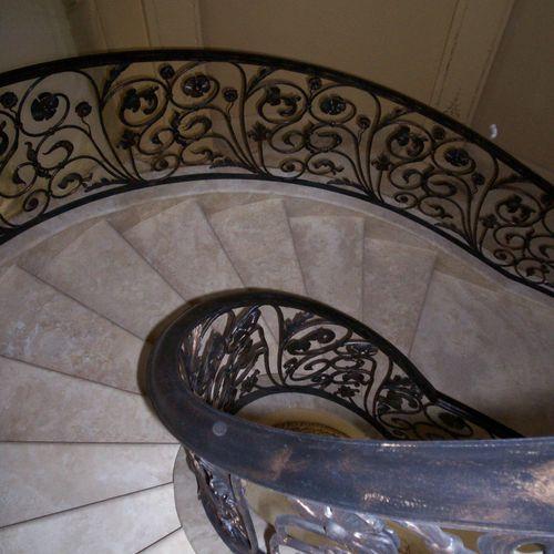 Wrought Iron Stair Railing1