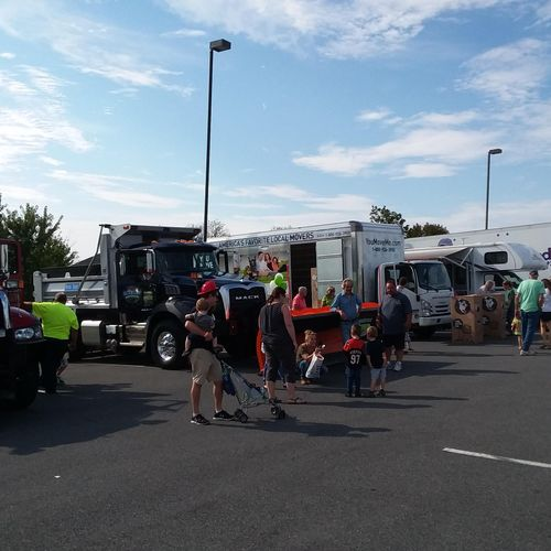 Touch-A-Truck event in Nazareth, PA.