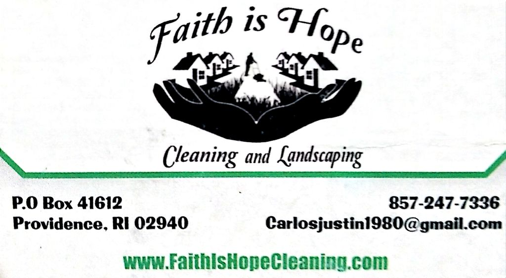 Faith Is Hope Cleaning And Courier LLC
