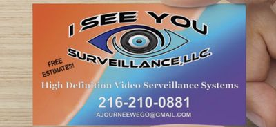 Avatar for I See You Surveillance,LLC. Maple Heights, OH Thumbtack