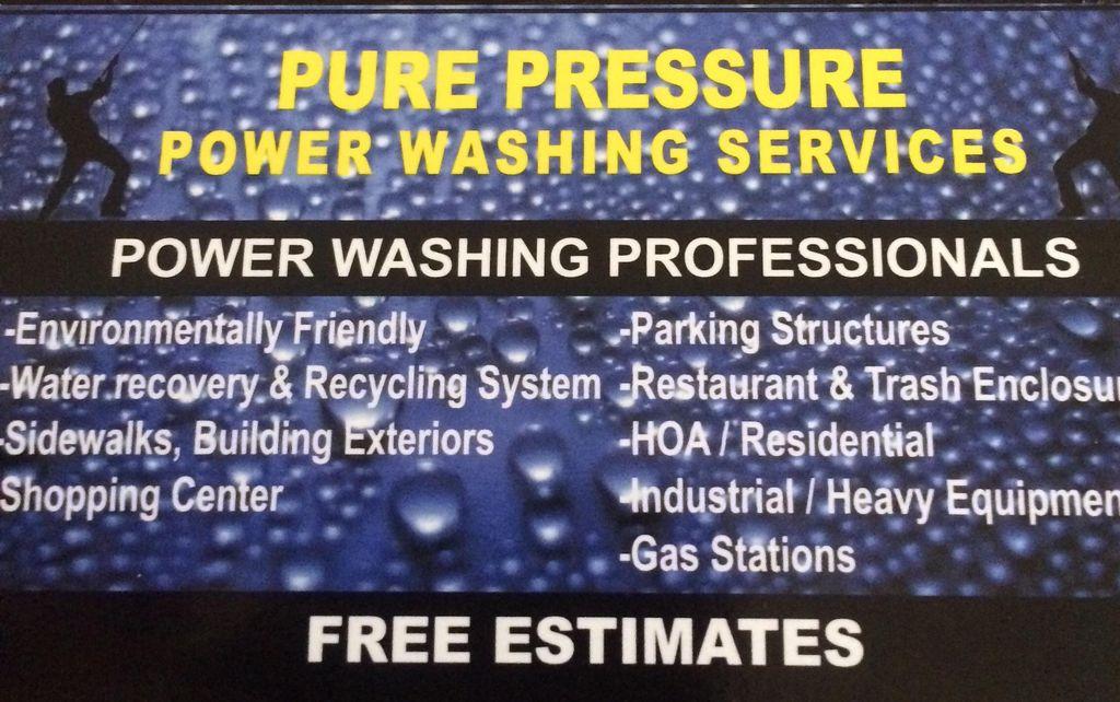 Purepressure Washing Service
