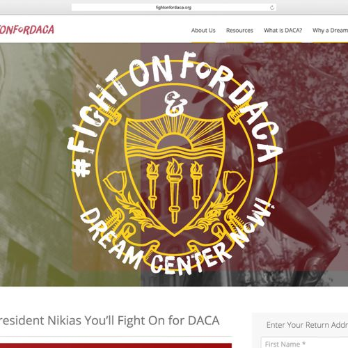 #FightOnForDACA at USC
