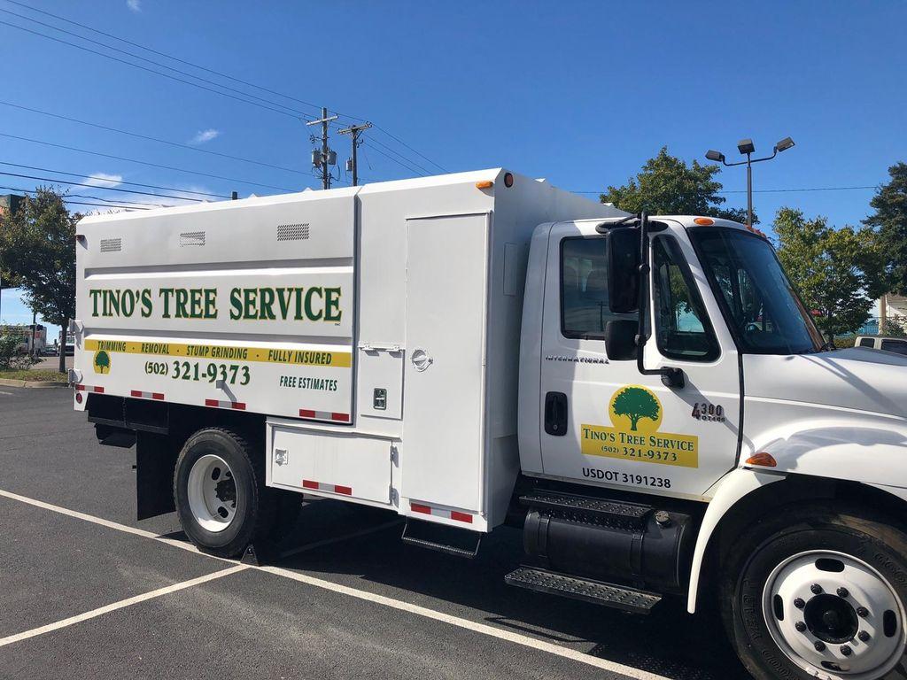 Tino's tree service inc