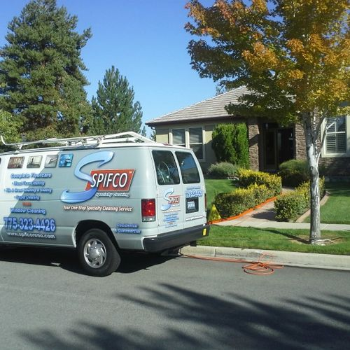 Beautiful day to get those carpets cleaned!