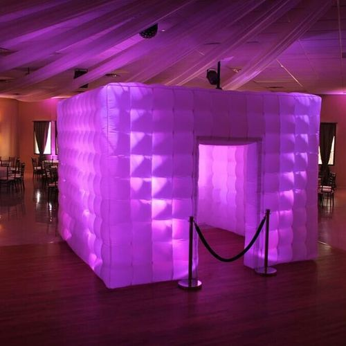 Our New LED Booth