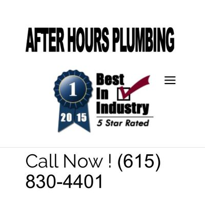 Avatar for After Hours Plumbing Hendersonville, TN Thumbtack
