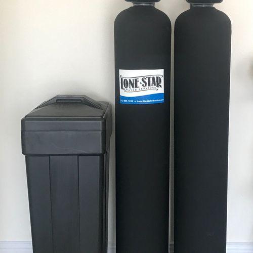 Clack 48K Softener & Whole House Carbon Filter