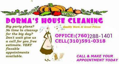 Avatar for Dorma's House Cleaning Services Desert Hot Springs, CA Thumbtack
