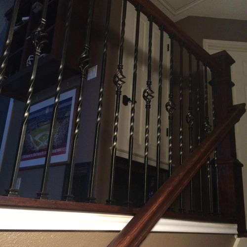 After Iron Railing