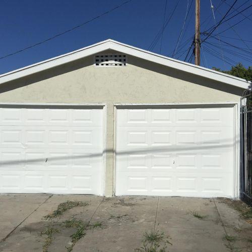 Garage and door repaint