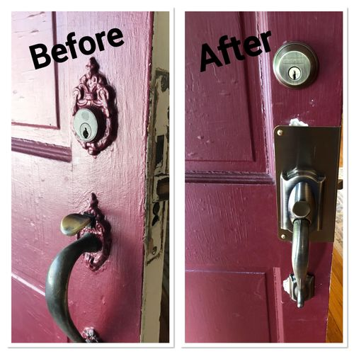 Many times these locks are 70+ years old and are too costly to repair!